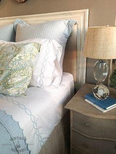 Bedroom Update - Perfect Linens — Vintage Refined