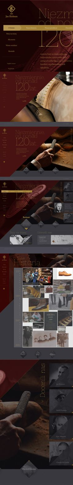 : traditional shoe manufacturer by Piotr Adamski, via Behance