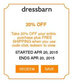 Dress barn coupons plus free shipping