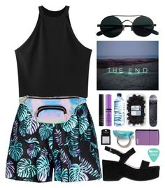 """The end"" by brigi-bodoki ❤ liked on Polyvore featuring Chicnova Fashion, Skinnydip, Marc Jacobs, Børn, Topshop, Zippo and NARS Cosmetics"