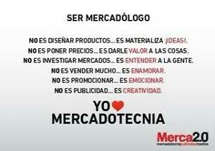Ser mercadologo es...