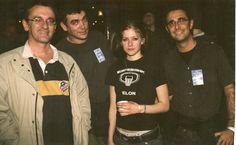 con Avril Lavigne