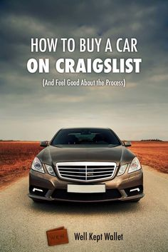 Frugal car shopping! How to buy a car on Craigslist & feel good about the process