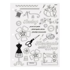 Sewing+Clear+Stamps+-+OrientalTrading.com $16>8 for 2+yrs now; prev mgmt used to mark down faster/more...8/16; finally got it @$5?