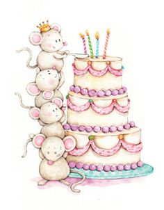 Liz Yee - Mouse Birthday