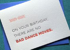 27 Cheeky Letterpress Birthday Cards You'll Love via Brit + Co.