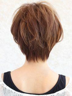 ナチュラルショート Short Shaggy Haircuts, Short Hairstyles For Women, Hairstyles Haircuts, Short Hair Cuts For Round Faces, Short Hair Cuts For Women, Good Hair Day, Great Hair, Shot Hair Styles, Curly Hair Styles