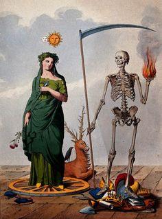 VANITAS CIRCA 18TH CENTURY -