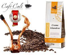 Café cult gourmet Crema Irlandesa.  www.mardete.com