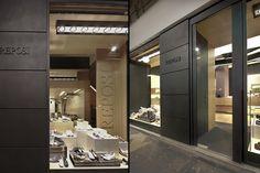 Reposi shoe shop by Diego Bortolato Architetto, Alessandria Italy store design