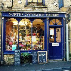 *North's Costwold Bakery*  Church Street- Cheltenham, Gloucestershire, UK. Love the English bakeries!