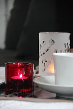 Taking Christmas pictures for a magazine. Just love the red iittala kivi light.