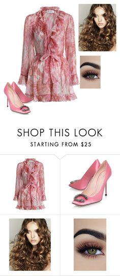 """""""Untitled #552"""" by sylvia-tall ❤ liked on Polyvore featuring Zimmermann and Gucci"""