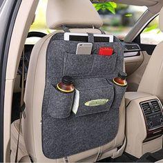 Vehicle Storage Bag Hanger Organizer Multifunction Car Seat Cover #Unbranded