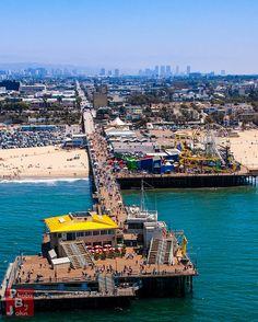 Santa Monica Pier. SO fun, and only about 3 hours from Hummingbird Cottage!