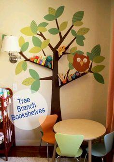 tree bookshelf