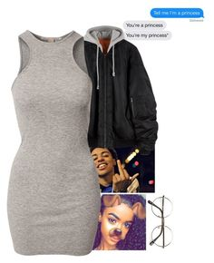 """Princess "" by melaninaire ❤ liked on Polyvore featuring NLY Trend and ZeroUV"