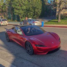 Tesla Roadster, Tesla Electric Car, Electric Cars, Supercars, Best Hybrid Cars, Automobile, Tesla Motors, Fancy Cars, Toyota Camry