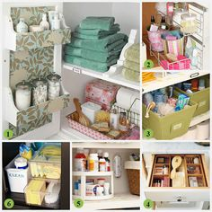 DIY:  25 Creative Bathroom Storage Ideas!