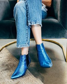 Anine Bing blue metalic boots Streetstyle, casual outfit, winter outfit, winter look, how to dress in winter, estilo casual, idée de tenue, ideas de looks, tenues d'automne, tenues d'hiver, looks de invierno, fall winter trend 2017 2018, tendencias otoño invierno 2017 2018, tendance automne hiver 2017 2018