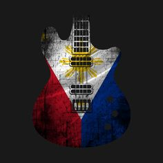 Shop Guitar flag tee Philippines music t-shirts designed by cashfish as well as other music merchandise at TeePublic. Youtube Editing, Filipino Art, Asian Wallpaper, Pinoy, Philippines, Shirt Designs, Guitar, Flag, Digital