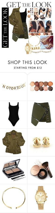 """""""Don't mind?"""" by sambaadama ❤ liked on Polyvore featuring NYX, Anthony Vaccarello, Balmain, Cartier, Sephora Collection, Clarins, L'Oréal Paris, Nude by Nature, Lumière and Accessorize"""