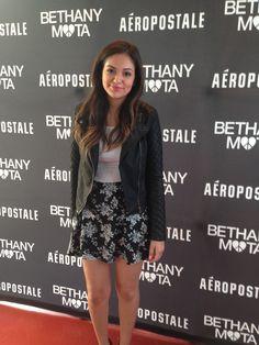 Bethany Mota Back To School Style Tips - Bethany Mota Aeropostale Perfume - Seventeen