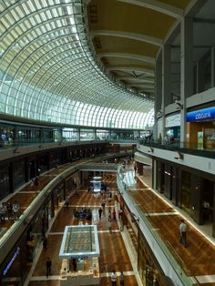 Shopping under the marina bay Sands ~ every store you could want.