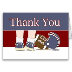 Football Thank You Card Template Yes I can say you are on right site we just collected best shopping store that haveThis Deals Football Thank You Card Template Here a great deal. Thank You Greeting Cards, Custom Thank You Cards, Thank You Card Template, Yes I Can, Smudging, Paper Texture, Football, Templates, Feelings