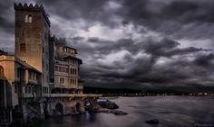 Pegli in Storm HDR - Genova Italy Photo by Tiziano Valeno