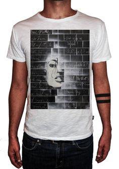 HERMAN EPIS - MY WALL - T-Artist Collection - Author T-Shirt #doubleexcess #hermanepis #artist #art #artfashion #fashion #style #workofart #tshirt #tee #menstshirt #mensclothing #menswear #mensfashion #alternativetshirt #alternative #elegant #madeinprato #madeinitaly