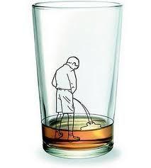 vaso decorativo contra alcohólicos