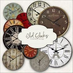 Clocks – Decor :     Old Clock faces free printable    -Read More –   - #Clocks https://decorobject.com/decorative-objects/clocks/clocks-decor-old-clock-faces-free-printable/