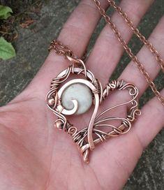 Bijoux Wire Wrap, Bijoux Diy, Wire Wrap Bracelets, Necklaces, Wire Necklace, Gold Bracelets, Copper Jewelry, Beaded Jewelry, Handmade Jewelry