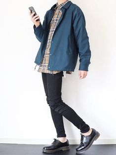 The Best Examples for Korean Street Fashion Seoul Fashion, Korean Street Fashion, Casual Outfits, Cute Outfits, Fashion Outfits, Mens Fashion, Fashion Hair, Look Man, Character Outfits