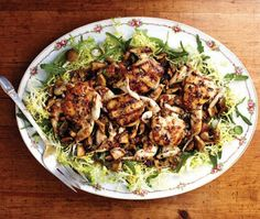 Grilled Quail Salad Recipe | from Cindy's Supper Club cookbook | House & Home