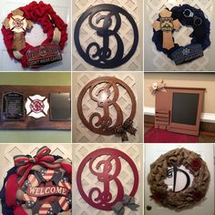 Elsie's Creative Designs by Lisa Cook specializes in Burlap, Deco Mesh and Grapevine Wreaths, Wood n Burlap Décor and Mason Jar Décor, we are inspired by Rustic and Shabby Chic Style!   Our handmade items are great for home décor, weddings, housewarming gifts, baby showers, bridal showers, anniversaries, so you can see for ANY occasion!   And we welcome CUSTOM ORDERS!  Out Of Town - ElsiesCreativeDesign.etsy.com  Wiregrass Area - https://www.facebook.com/elsiescustomdesigns  #GiftForHer…