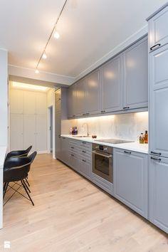 mieszkanie 80m2 na wynajem - Kuchnia, styl glamour - zdjęcie od Pracownia…