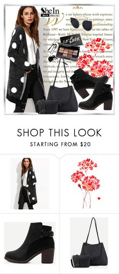 """""""shein 9"""" by woman-1979 ❤ liked on Polyvore featuring WALL and Bobbi Brown Cosmetics"""