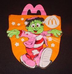 Vinyl Halloween Trick Or Treat Bag | Community Post: 8 Most Memorable Old School McDonald's Happy Meal Toys