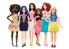 Barbie dolls with new body types unveiled as a part of diversified line