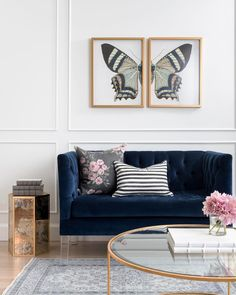 Have you had a chance to peruse through the #cwdecorshop? We've added over 100 pieces of artwork, including this split butterfly print! Find your favorites on CaitlinWilson.com!