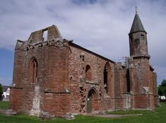fortrose cathedral, the black isle, the scottish highlands