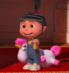 *AGNES ~ Despicable Me 2: I love her childlike innocence. I always appreciate looking through the eyes of a child because they just know how to be themselves. As we grow, we become more jaded and cynical to the point we lose our innocence. I believe maintaining a sense of innocence allows us to be more hopeful, optimistic, spirited, positive and to be curious about the world or we would never expand and grow.