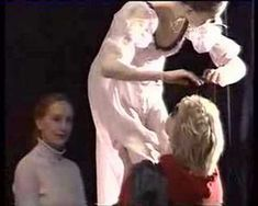 """♥ so awesome => in this brief video clip, Galina Ulanova at age 86 shows the young Juliet how it's done.""""No, no, no my child. Here, watch how I do it."""" [1996]"""