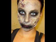 Halloween Series: Zombie Makeup Tutorial