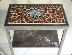 would love to make my very own mosaic table top for my patio ....mine will be done with sea glass