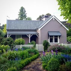 Sweet little weatherboard cottage in Bowral, Southern Highlands, Australia.