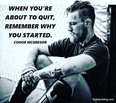 '' Check out our post for 14 more of our best Conor McGregor quotes. Wisdom Quotes, Quotes To Live By, Me Quotes, Motivational Quotes, Inspirational Quotes, Sport Motivation, Fitness Motivation Quotes, Conor Mcgregor Quotes, Martial Arts Quotes