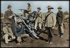 South Africa: Anglo Boer War in Colour – Suid-Afrika . British Soldier, British Army, Napoleonic Wars, African History, American Civil War, World History, Military History, Historical Photos, Warfare